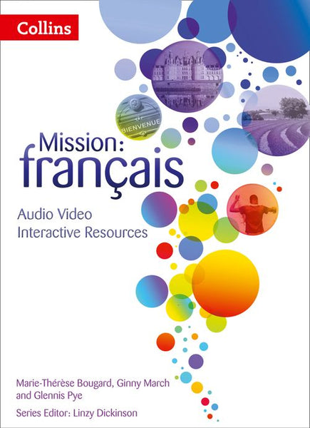Mission: français - Interactive Book, Audio, Video and Assessment 2 : Powered by Collins Connect, 3 year licence