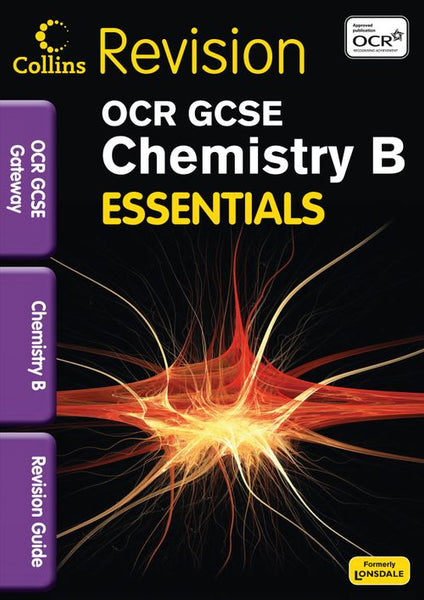 Collins GCSE Essentials - OCR Gateway Chemistry B:Collins Online Learning 1 Year edition