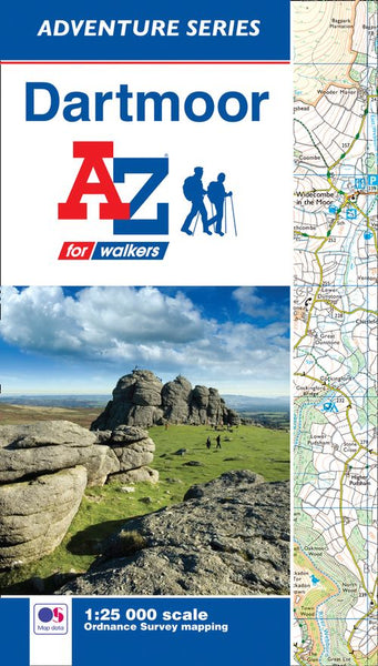 Dartmoor A-Z Adventure Atlas