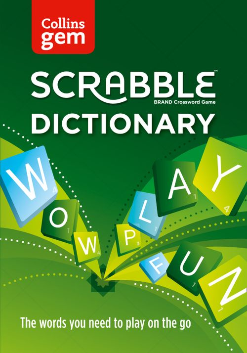 Collins Scrabble Dictionary Gem Edition : The words to play on the go