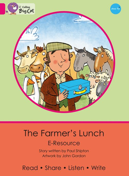 Collins Big Cat eResources - The Farmer's Lunch : Pink A/Band 01a