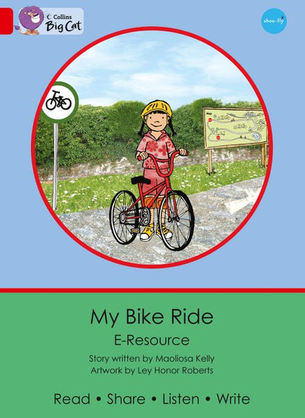 Collins Big Cat eResources - My Bike Ride : Red A/Band 02a