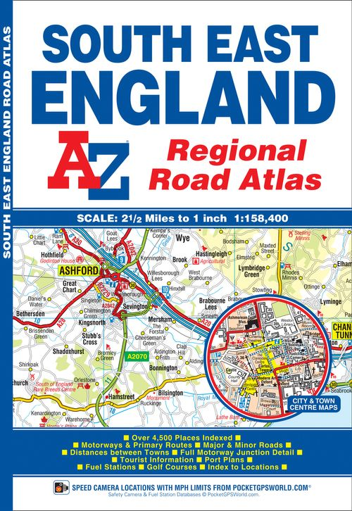 South East England Regional A-Z Road Atlas