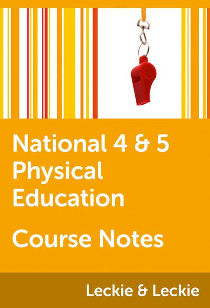 Course Notes for SQA Exams - National 4/5 Physical Education Course Notes: Powered by Collins Connect, 1 year licence (Course Notes for SQA Exams)