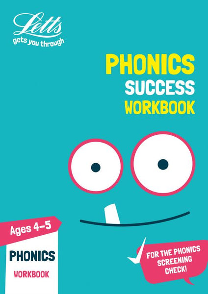 Letts KS1 Practice - Phonics Ages 4-5 Practice Workbook