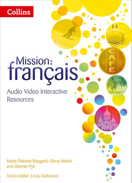 Mission: français - Mission: français – Interactive Book, Audio, Video and Assessment 3: Powered by Collins Connect, 3 year licence