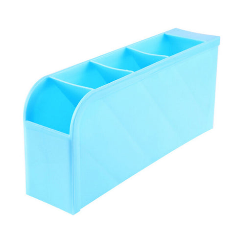 1 PCS Multifunctional Socks Tableware Plastic Storage Box