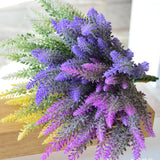 Romantic Provence Decoration Lavender Flower Silk Artificial-4 Colors