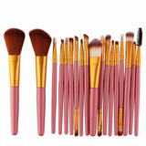 18 /15Pcs Full Professional Makeup Kit Set Makeup Brushes
