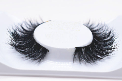 2017 New 1 pair 3D mink eyelash 100%real mink Fur Handmade Crossing lashes individual strip thick Natural lash makeup beuty tool