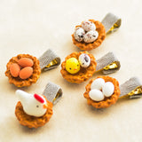 New Arrivals  Hair Accessories Cartoon Chick Egg Hair Clip Cute