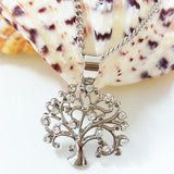 Tree Of Life Necklace Pendant Crystal Life Tree Necklaces Jewelry
