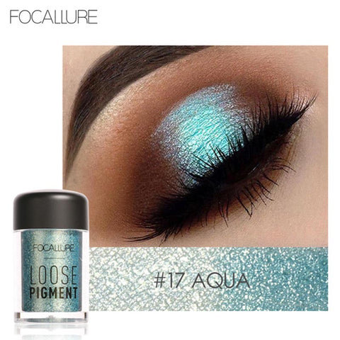 New Glitter Crystal Eyeshadow Loose Powder Makeup Waterproof