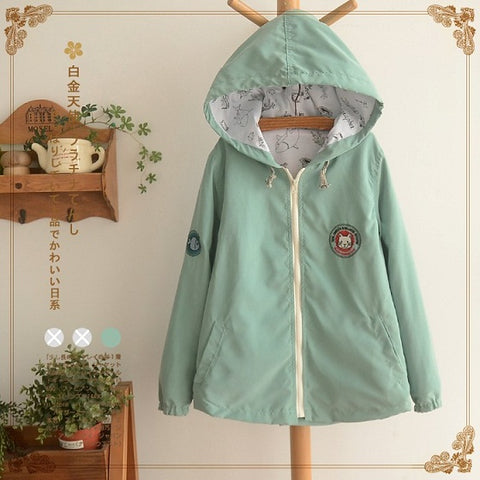 Spring New Women Jacket Japanese style Coat
