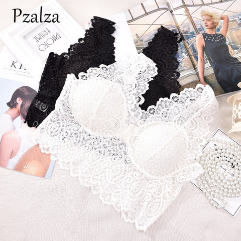 Lace Bralette Crop Top Women Bras WireFree Sexy