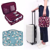 Travel Cosmetic Makeup Toiletry Case Bag