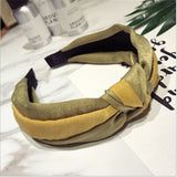 Korean fashion fabric knot hairband headband accessories