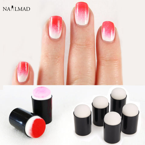 Reusable Gradient Nail Sponges Stamp For Gel Gradient Nails Tools
