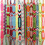 Handmade Bracelet Custom Cotton Wrap Popular Woven Rope String Friendship Bracelets