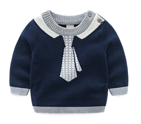 Baby Boys Sweater Autumn Winter Sweatershirt
