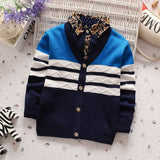 New Arrival Bebe Clothes Toddler Boys Cardigan Outwear Coat