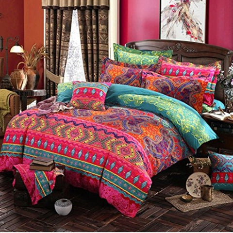 Bohemian 3d comforter bedding sets Mandala duvet cover set winter
