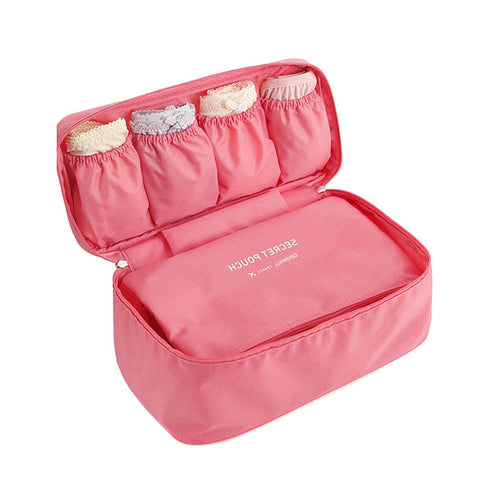 Bra Underwear Storage Bag Waterproof Nylon Travel