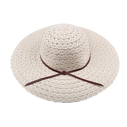 c3dab75d22e356 Design Women Beach Sun Hat Foldable Brimmed Straw Hat – I sell what ...