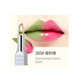 Hot Magic Temperature Change Color Moisturizer Full Lips Balm Flower Jelly Lipstick