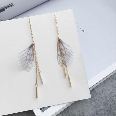 New Design Unique Long Dangle Drop Earrings for Women  Brincos