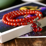 Red Crystal Bracelets Beads Jewelry