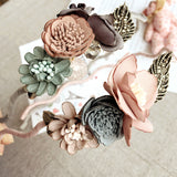 Korea Spring Flowers Hand made Fabric flowers