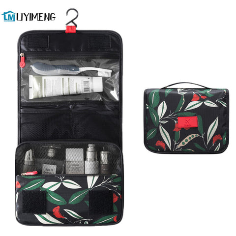 Travel Washing Container Storage Toiletry Waterproof Bag