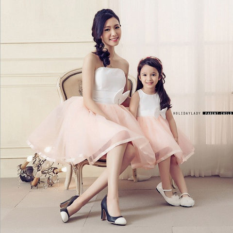 Mother Daughter Matching Dresses Clothes