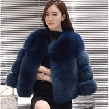 Fur Coat Female Winter Warm Jacket