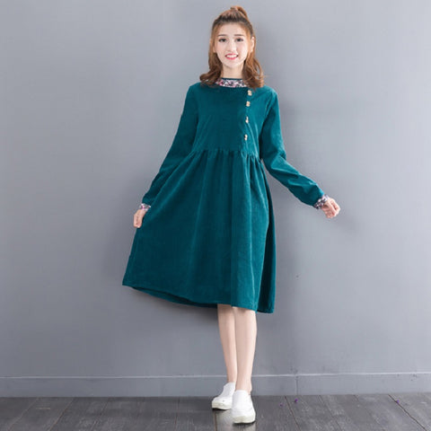 Vintage Long Sleeve Dresses