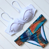 Swimming Suit Sexy Push Up Bikinis Set  Beachwear 2018