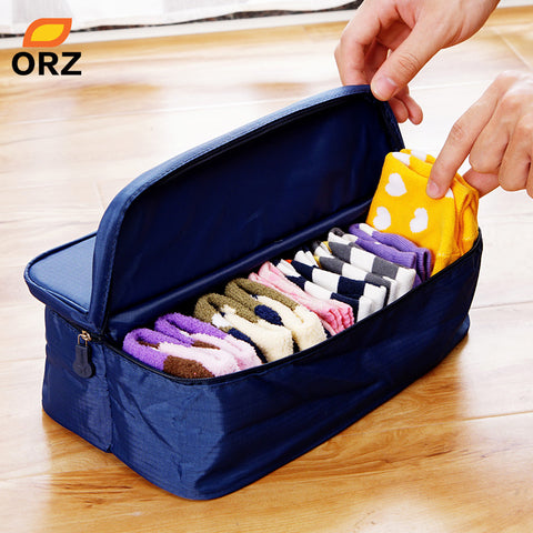Double Open Travel Storage Bag Multifunctional Waterproof Storage