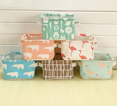 Storage Baskets Made From Eco-friendly Cotton