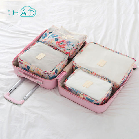 Painting Clothes packing box for travel underwear organizer