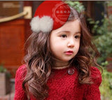 Hat Baby Girl Hair Clip Barrette Style Accessories For Children