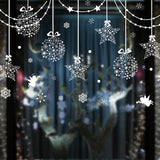 Stars Snowflakes Angel Glass Stickers Vinyl DIY Wall Decals