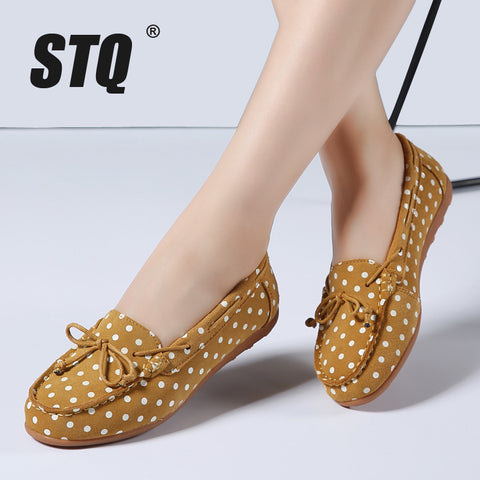 Spring women ballet basic flats shoes style flats female leather