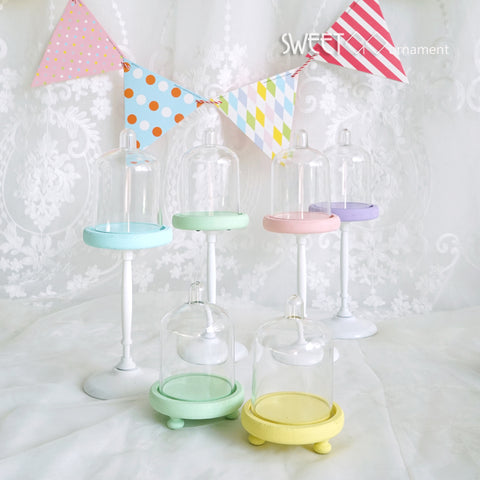 Jelly color cupcake stand mini single stand