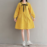 Spring Girl Corduroy Dress
