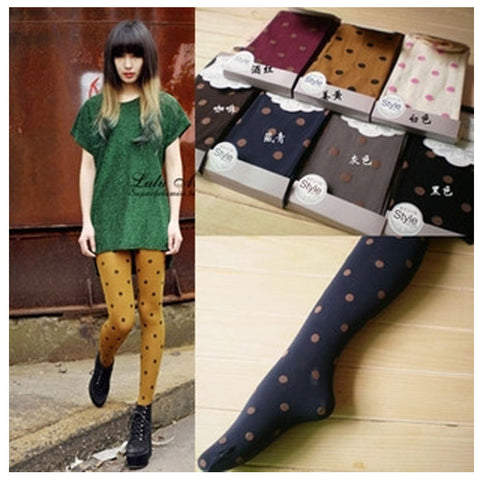 Hot Sale New Women Pantyhose Sexy Personality Stitching Knee Boots Tights 7 Styles