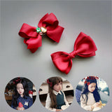 Bowknot bows hairpin boutique