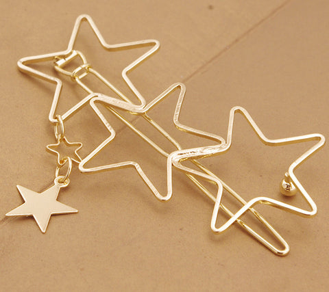 Hollow out Star Tassel Hairpin High Quality Hair Accessories