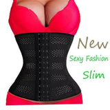 Womens Body Shaper Tummy Waist Trainer Cincher Underbust Corset Shapewear