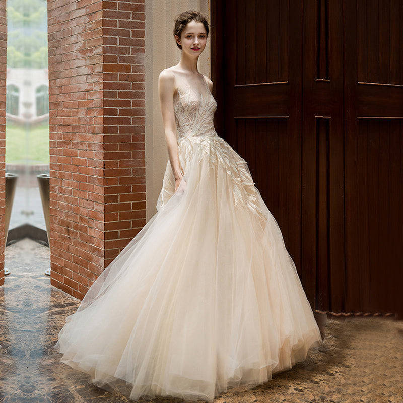 f0db919a84c6 bride dress simple bridal ball gown real photo weddingdress luxury – I sell  what I love